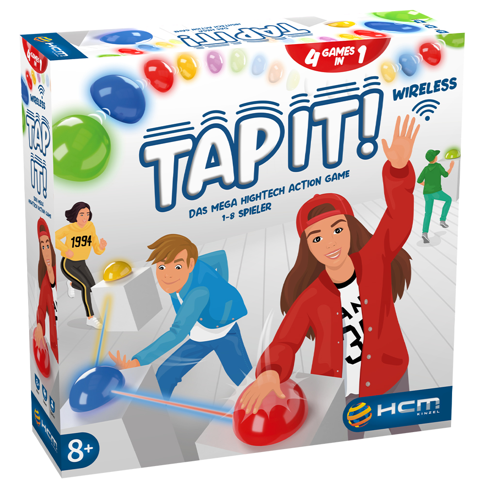 TAP IT! Das Mega Hightech Action Game